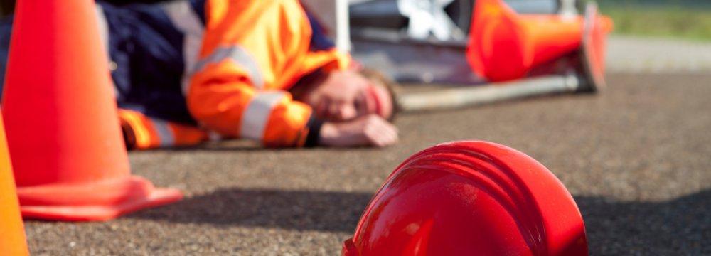 حوادث ناشی از کار کارگران